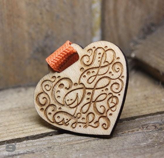 Schlüsselanhänger Buche * Ornament Vitage*