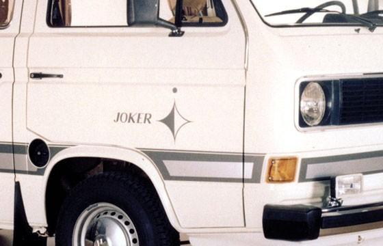 """T3 Dekorfoliensatz """"Joker"""" silber 16-teilig"""