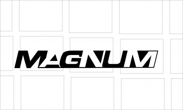 "T3 Aufkleber Dekorfoliensatz "" MAGNUM "" 1 Stück"