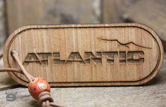 Schlüsselanhänger Holz *Westfalia ATLANTIC*