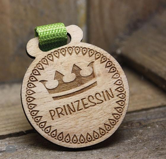 Schlüsselanhänger Buche * Schriftzug * Prinzessin ,Lieblingsmensch
