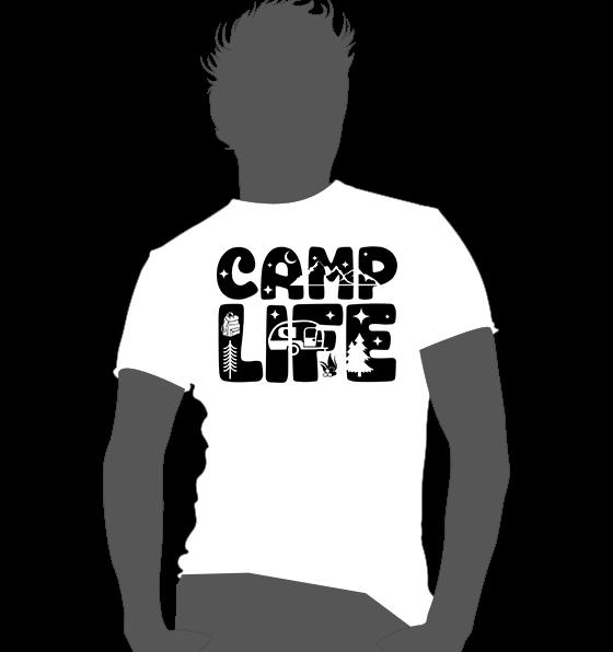 Textildruck Camper Life